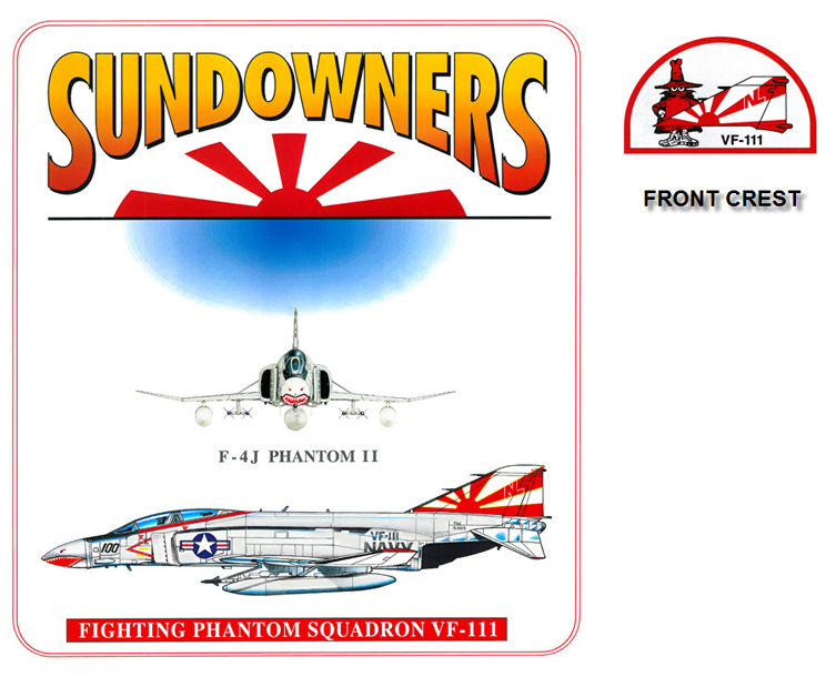 F-4J Phantom II - VF-111 The Sundowners