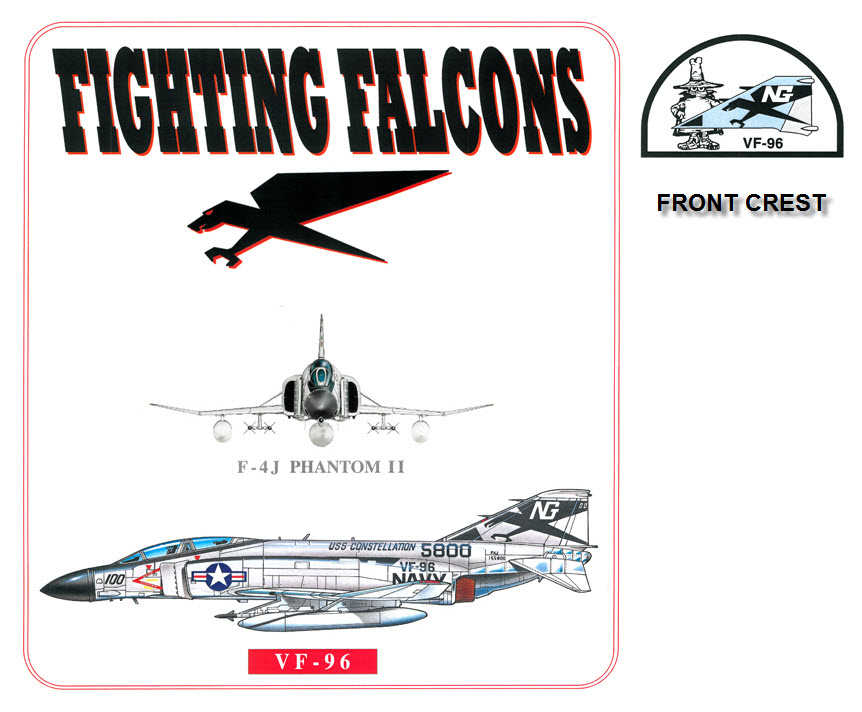 F-4J Phantom II - VF-96 The Fighting Falcons