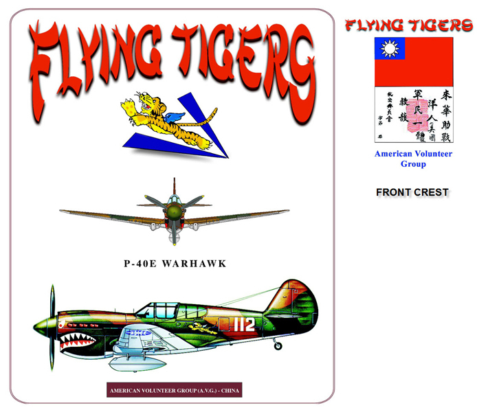 P-40 Warhawk - Flying Tigers