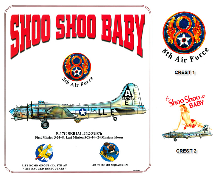 B-17 Flying Fortress - Shoo Shoo Shoo Baby