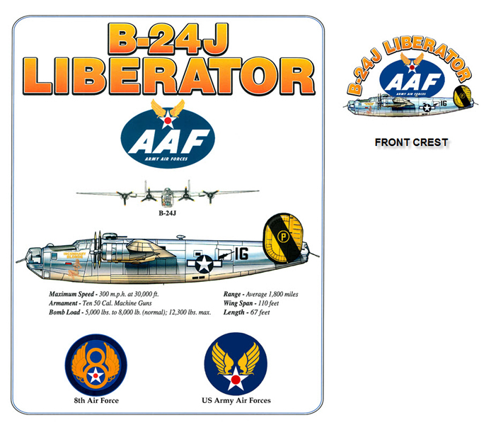 B-24 US Army Air Forces Bomber