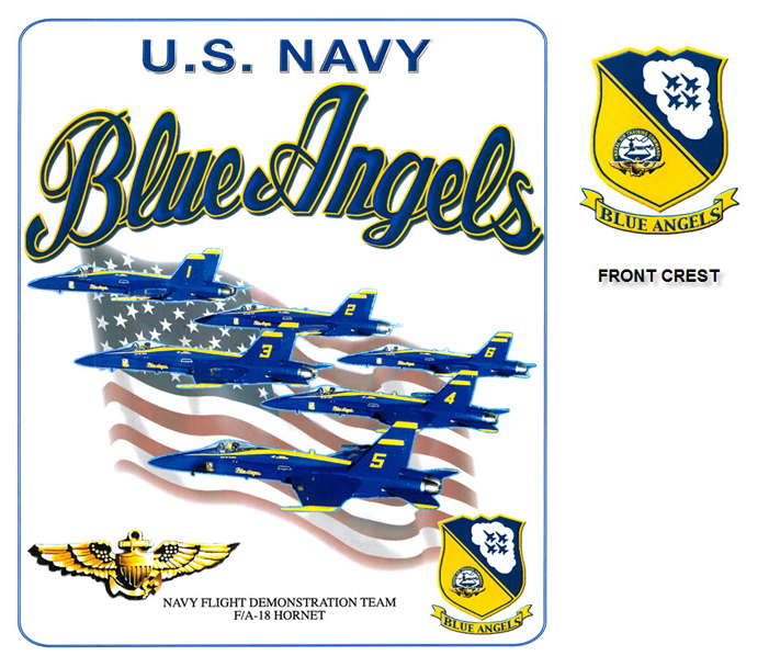 Blue Angels - Team and Flag