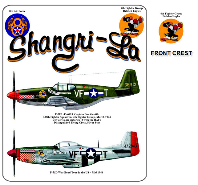 P-51 Mustang - Shangri-La - 4th Fighter Group