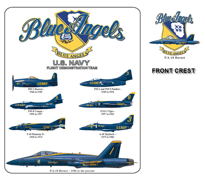Blue Angels - Aircraft History