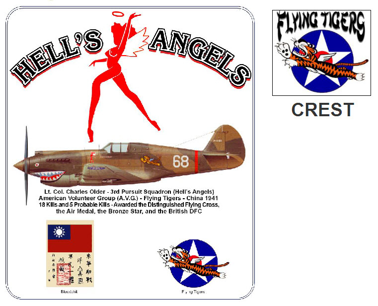 Hell's Angels - P-40B