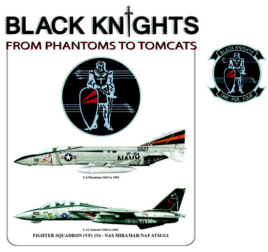 Black Knights Transition - F-4 to F-14