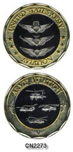 Challenge Coin - US Army - Aviation