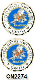 Challenge Coin - US Navy - SeaBees