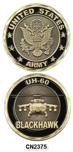 Challenge Coin - US Army - UH-60 Blackhawk