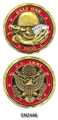 Challenge Coin - US Army - Only One Deal