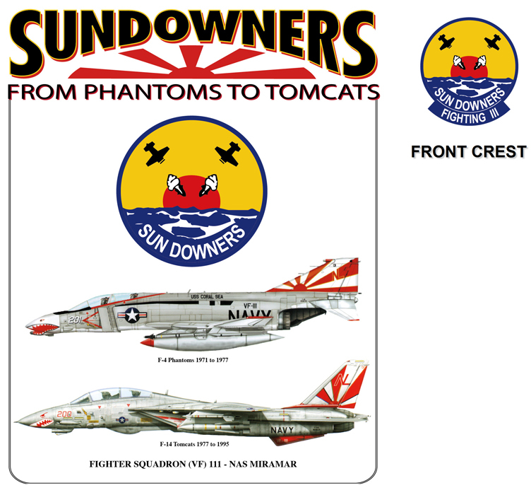 Sun Downers Transition - F-4 to F-14