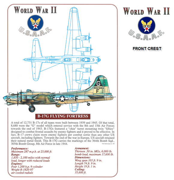 B-17 Flying Fortress - Classic Design