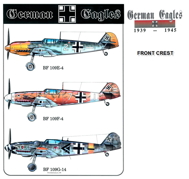 German Eagles - the Bf-109's