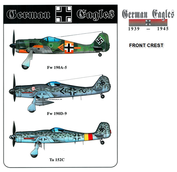 German Eagles - the Fw-190's