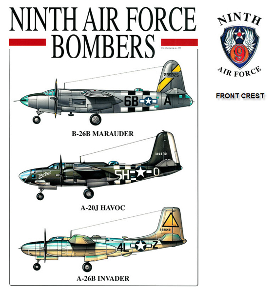 Ninth Air Force Bombers