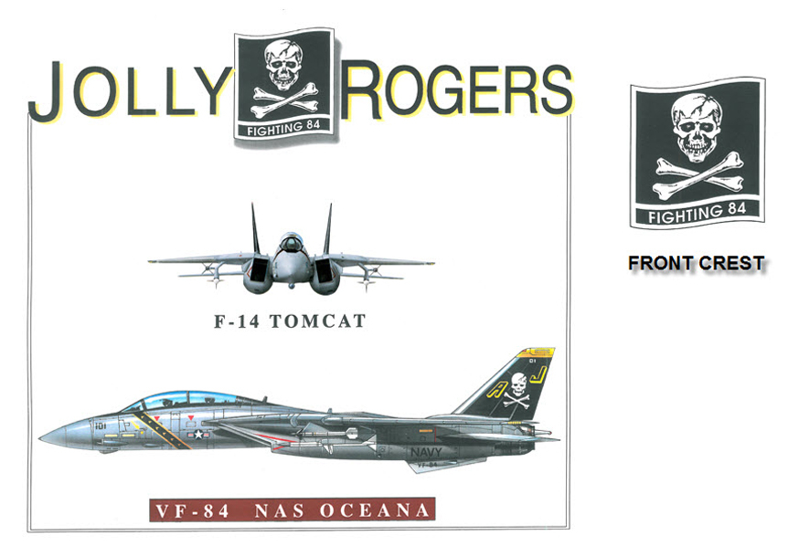 F-14 Tomcat - VF-84 Jolly Rogers Squadron