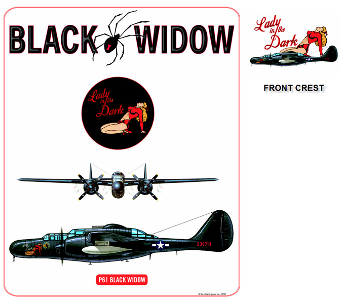P-61 Black Widow - Lady In The Dark