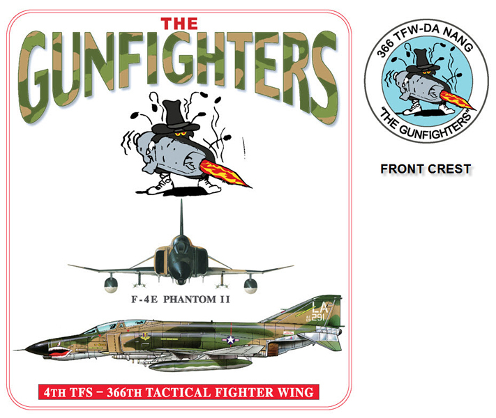 F-4E Phantom II - 4th TFS The Gunfighters
