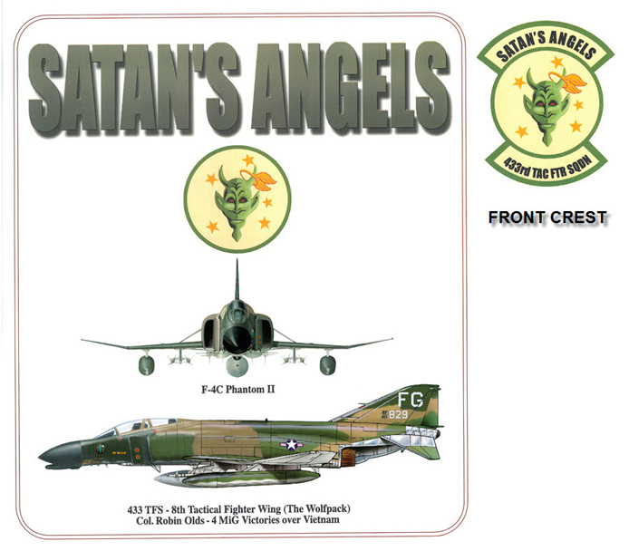 F-4D Phantom II - 433 TFS Satan's Angels