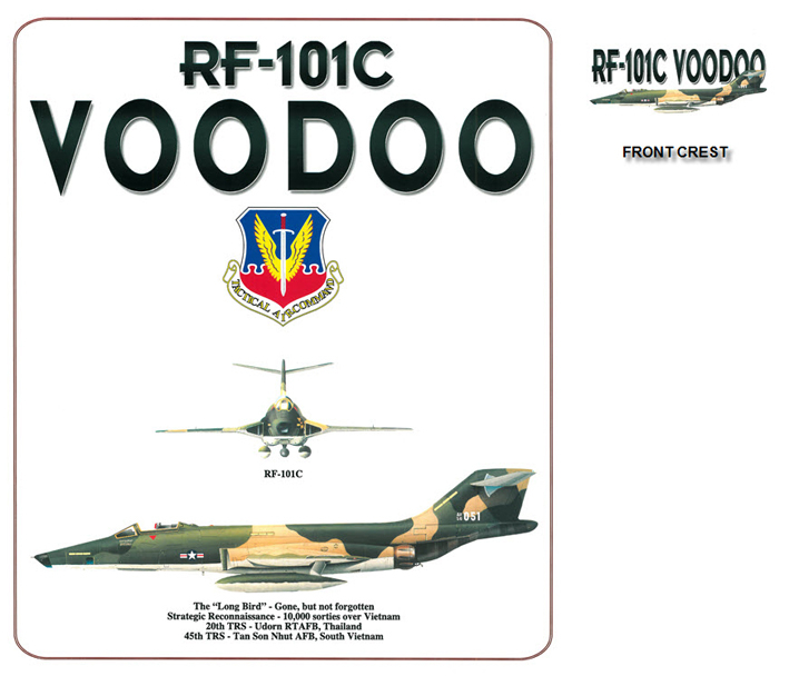 "RF-101C Voodoo  - The ""Long Bird"""