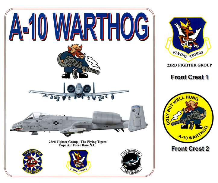 A-10 Thunderbolt II (the Warthog)