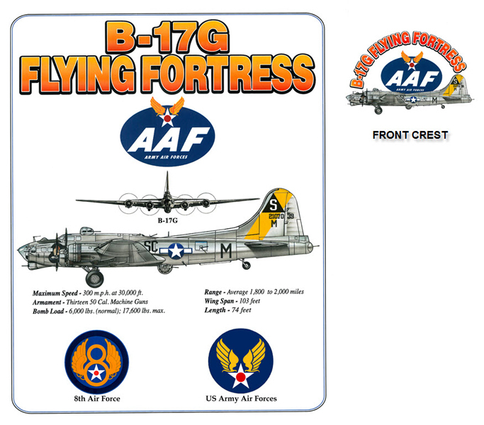 B-17 Army Air Forces Flying Fortress