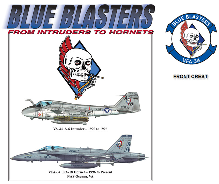 Blue Blasters Transition - A-6 to F-18