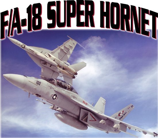 Kid's Design - F-18 Super Hornet