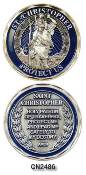 Challenge Coin - Spiritual - St. Christopher