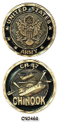 Challenge Coin - US Army - CH-47 Chinnok