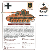 German Panzer IV Tank
