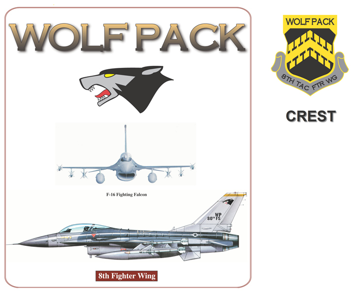 F-16 Fighting Falcon - Wolfpack