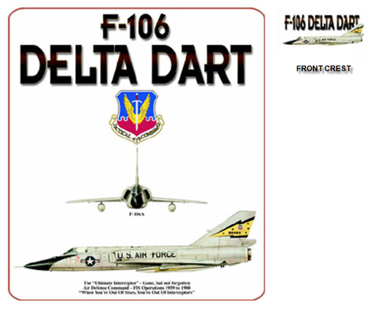 "F-106 Delta Dart - The ""Ultimate Interceptor"""