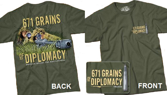 Sniper Team - 671 Grains of Diplomacy