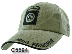 Cap - Army OD 82nd Airborne