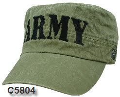 Cap - Army OD Retro Flat Top