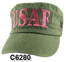 Cap - Air Force Women's OD Retro Flat Top