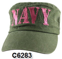 Cap - Navy Women's OD Retro Flat Top
