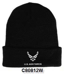 Cap - Air Force Embroidered Watch Cap