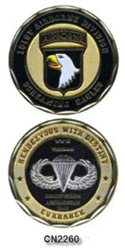Challenge Coin - US Army - 101st Airborne