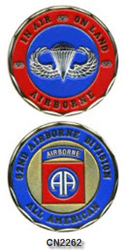 Challenge Coin - US Army - 82nd Airborne