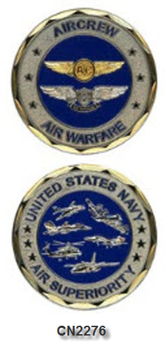 Challenge Coin - US Navy - Air Crew