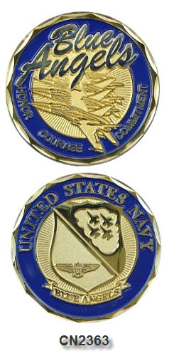 Challenge Coin - US Navy - Blue Angels