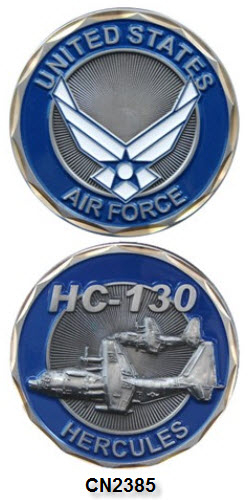 Challenge Coin - USAF - HC-130 Hercules