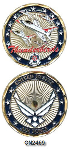 Challenge Coin - USAF - Thunderbirds