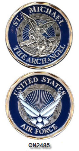Challenge Coin - USAF - St. Michael