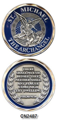 Challenge Coin - Spiritual - St. Michael