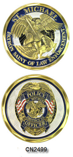Challenge Coin - Spiritual - Police St. Michael