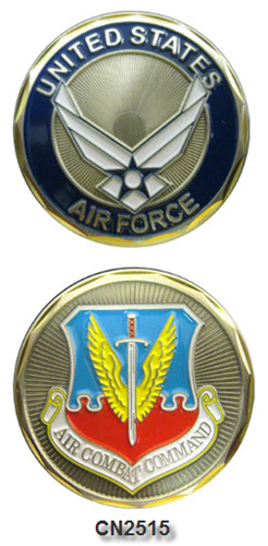 Challenge Coin - USAF - Air Combat Command