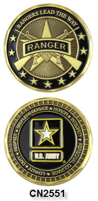 Challenge Coin - US Army - Rangers